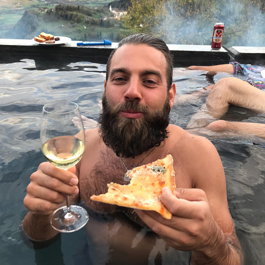 pool pizza plausch